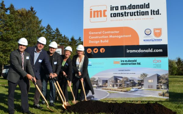Ground breaking for CONNECT Hamilton brings partners together